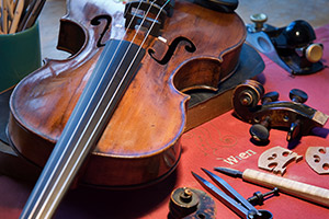 musical instrument fire and smoke damage restoration