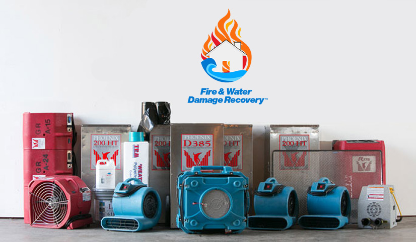 fire and water damage recovery equipment